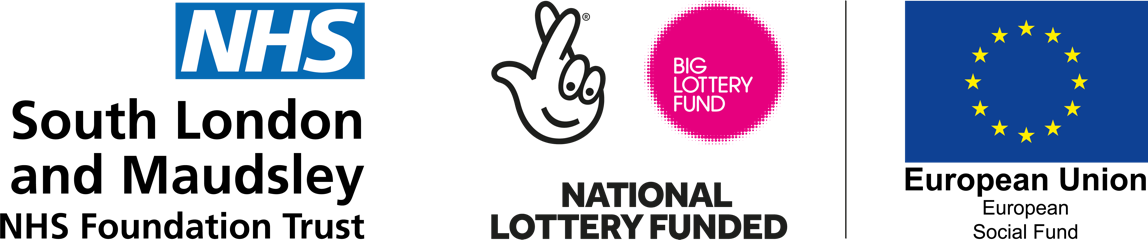 South London & Maudsley NHS Foundation Trust and National Lottery Funded and European Union Social Fund